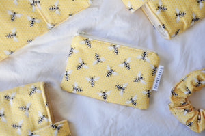 Yellow Bees Coin Pouch