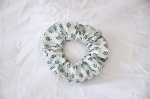 Vintage Leaves Scrunchie
