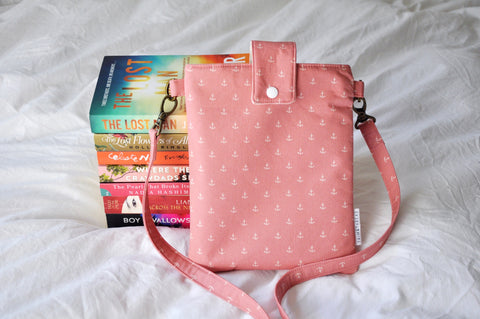 Anchors Blush Book Bag