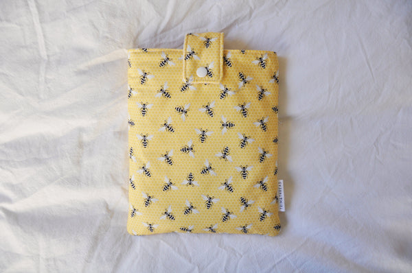 Yellow Bees Book Sleeve