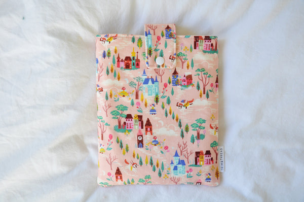 French Countryside Pink Book Sleeve