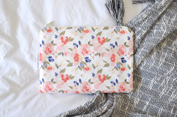 Romantic Peonies Kindle Pouch