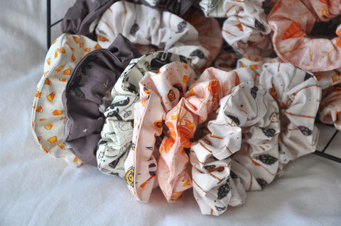 Spooky & Sweet Scrunchie Set (Set Of 6)