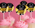 Lego Batman Cupcake Rings