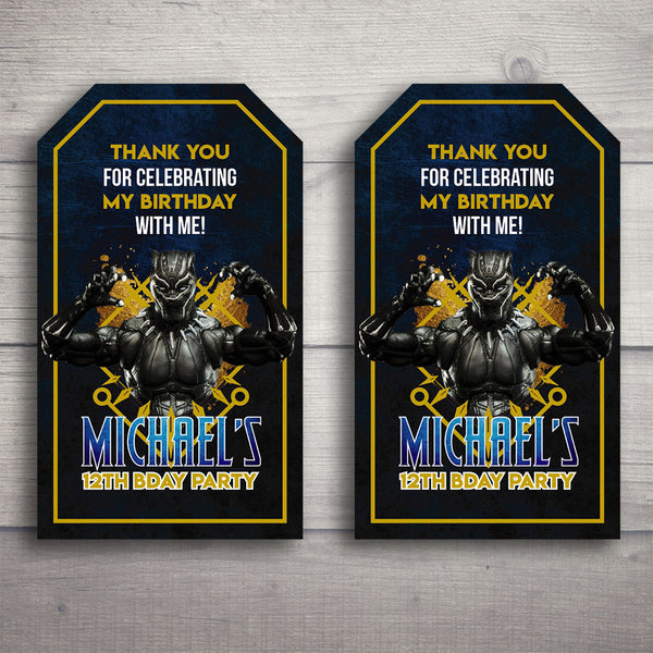 Black Panther Printable Party Bundle (Customized)