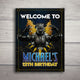 Black Panther Printable Welcome Sign (Customized)