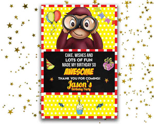 Curious George Card