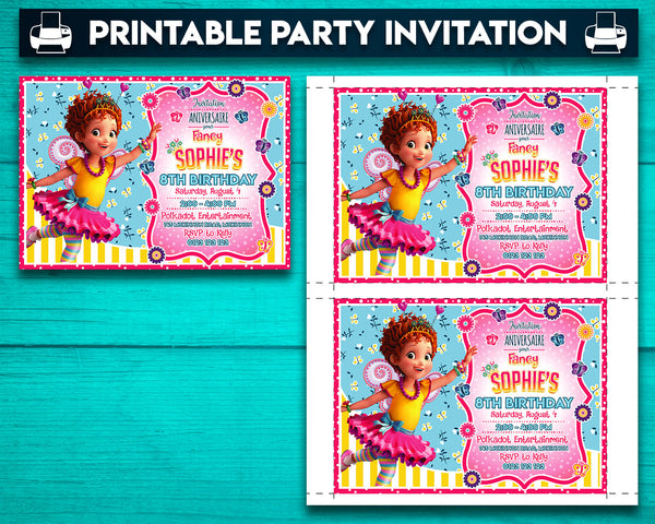 Fancy Nancy Printable Party Bundle (Customized)