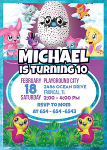 Hatchimal Invitation