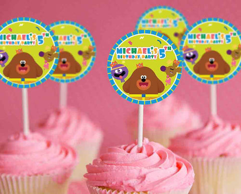Hey Duggee Cupcake Toppers