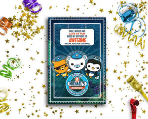 Octonauts Card