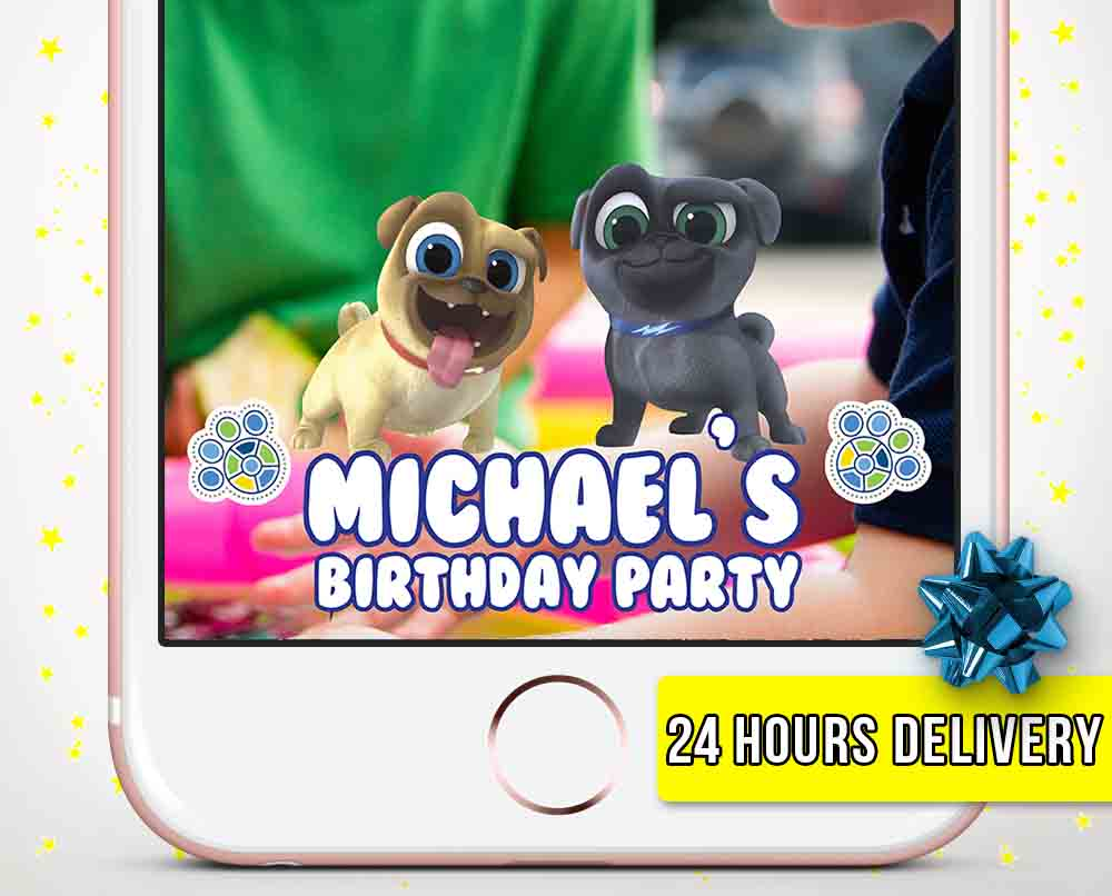 Puppy Dog Pals Snapchat