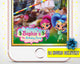 Shimmer and Shine Birthday Snapchat Filter