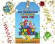Super Mario Bros Favor Bag Tags