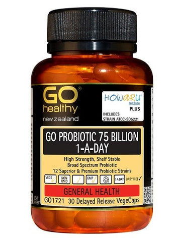 Go 75 billion probiotic 90 tablets