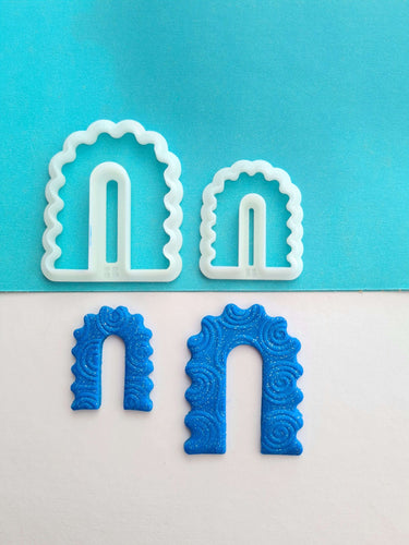 Wiggly Arch Shape Cutter Set