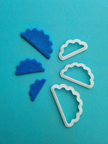 Wiggly Sunrise Shape Cutter Set