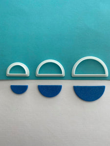 Semi Circle Shape Cutter Set