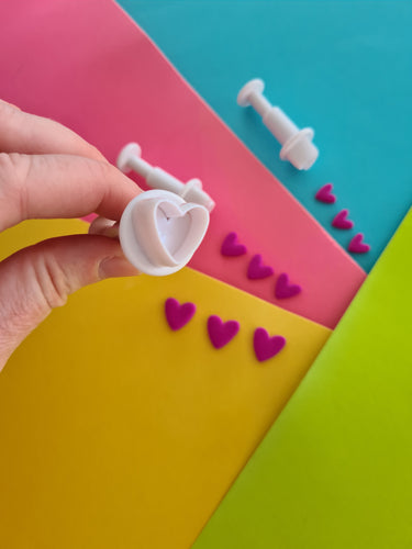 Heart Push Cutters Set of 3