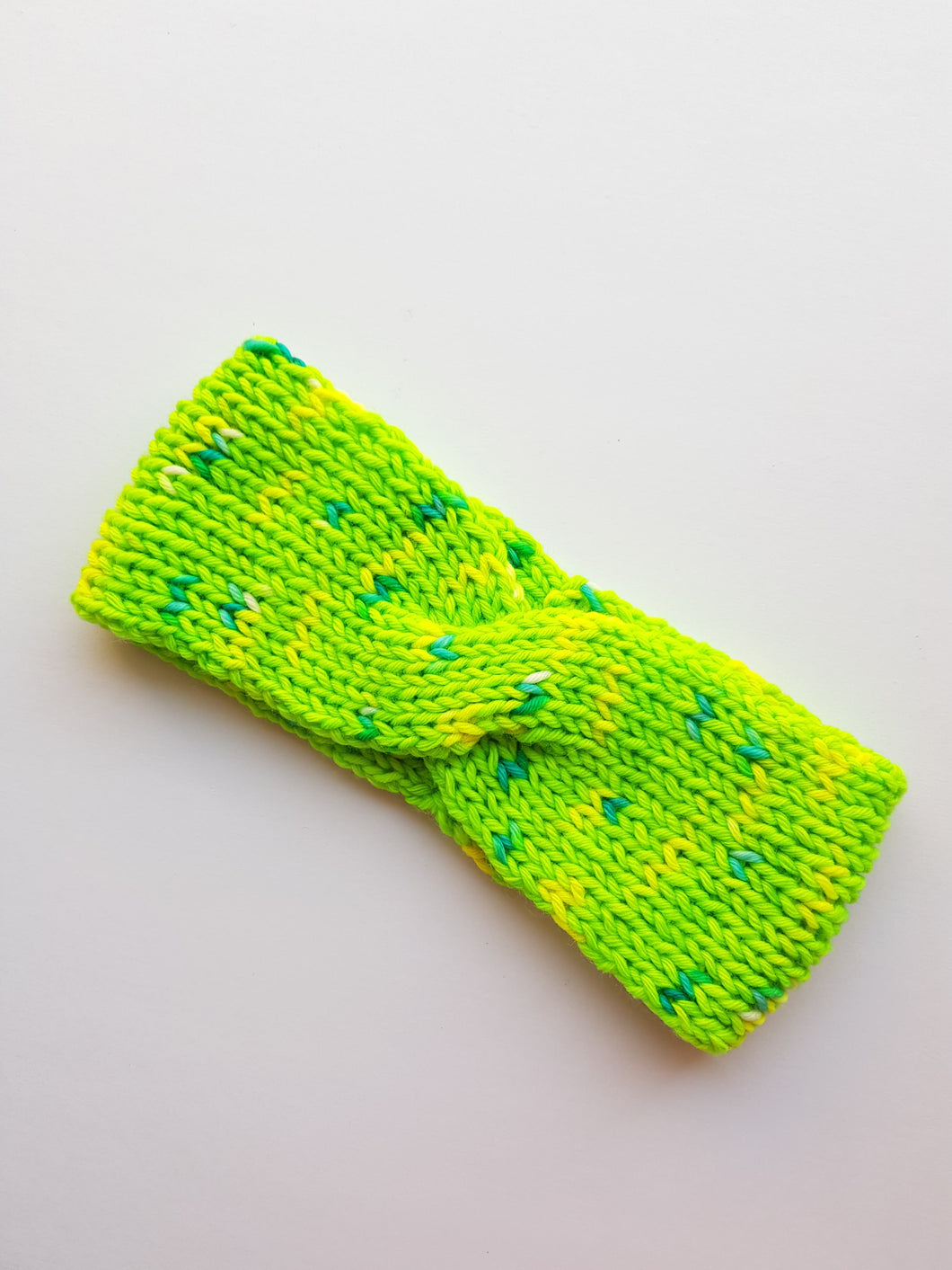 Green Budgie Cozy Ear Warmer Headband