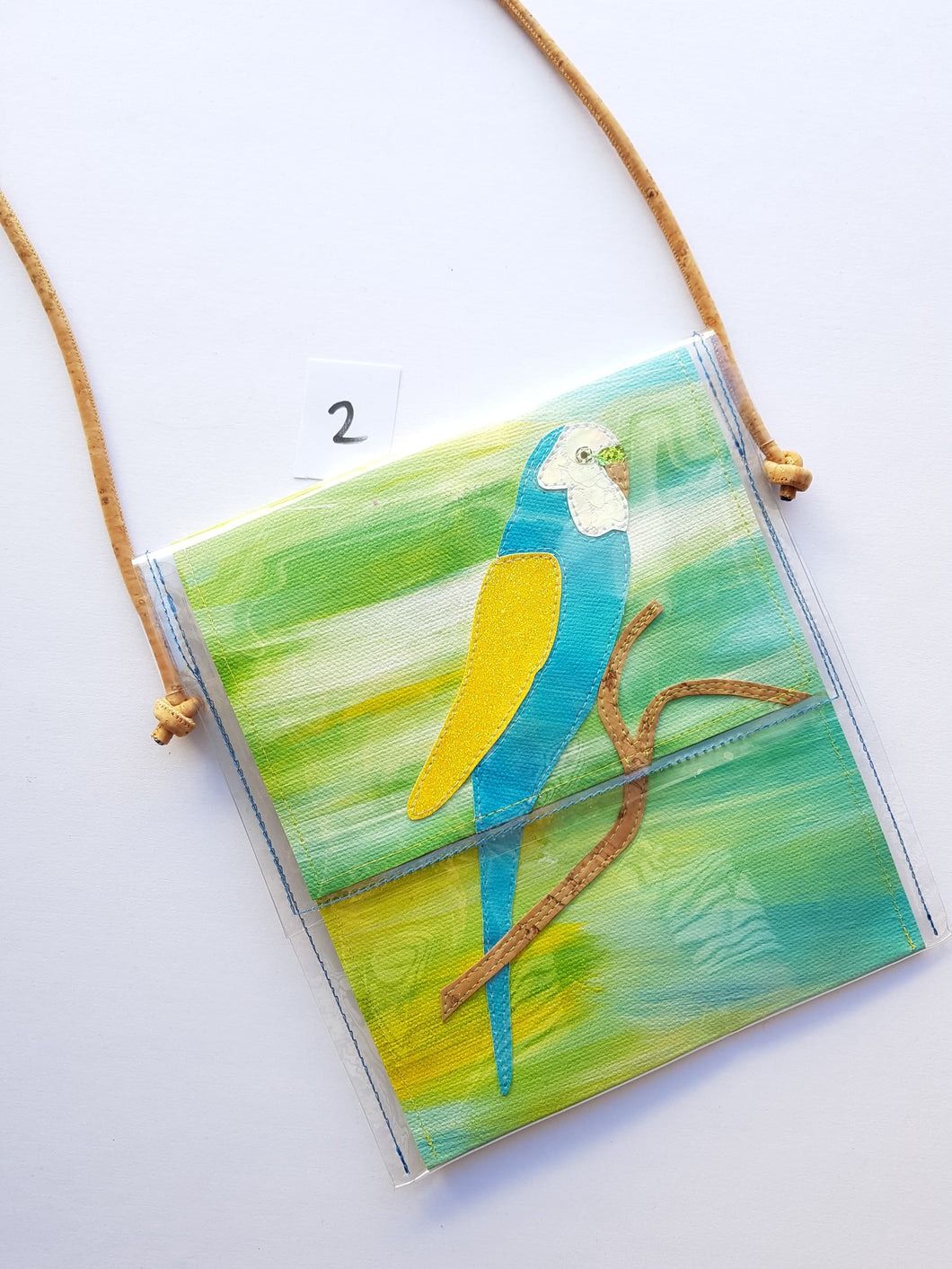 Pine and Apple Budgie Mini-bag 2