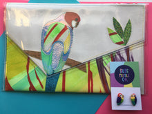 DISPATCH DEAL Pine and Apple Large Rosella Clutch + Rosellas