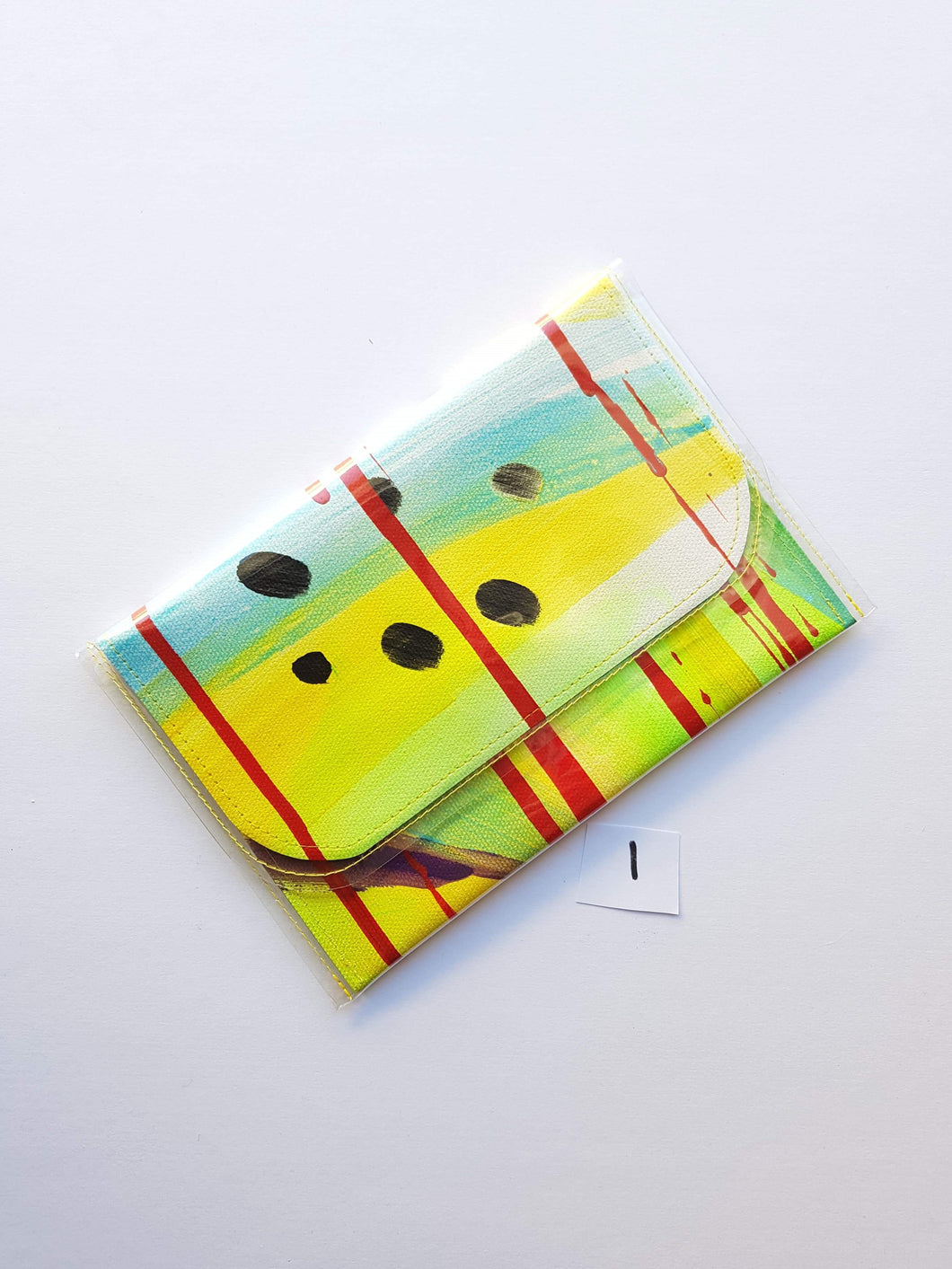 Pine and Apple Small Rosella Clutch (no collage) 1