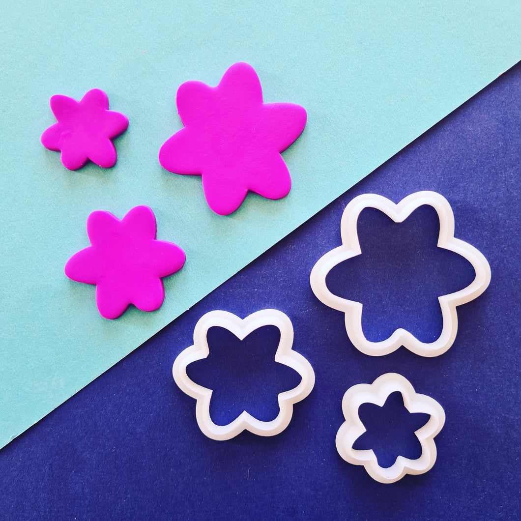 Trio of Flowers Shape Cutter Set