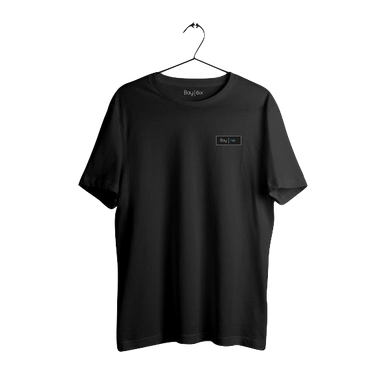 Bay | 6ix Simple Black T-Shirt