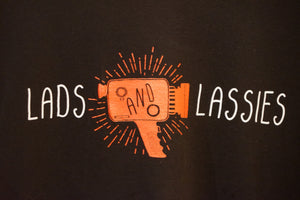Lads & Lassies Film T-shirt Red