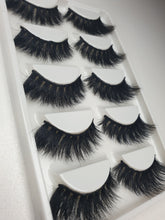 """@MOLLYJ_MUA"" 3D Mink Lashes 5pack"