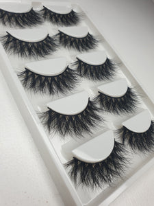 """@KAKEIKII"" 3D Mink Lashes 5pack"