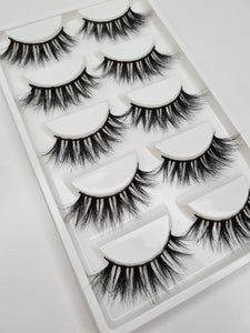 """@MAKEUPWITHYONGKERS"" 3D Mink Lashes 5pack"