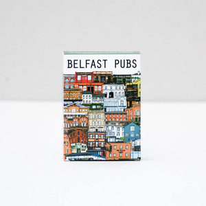 Belfast pubs, Playing cards, Belfast art, hand illustrated playing cards, Belfast bars