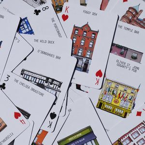 Dublin Pubs playing cards