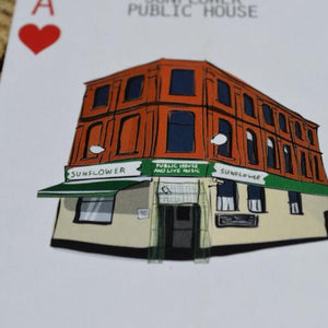 Belfast pubs playing cards the sunflower