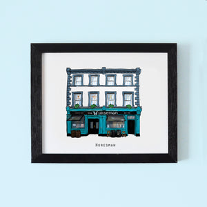 Illustrated pubs of Temple Bar