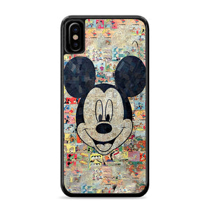 Mickey Disney Comic Collage iPhone Xs Case | Caserisa