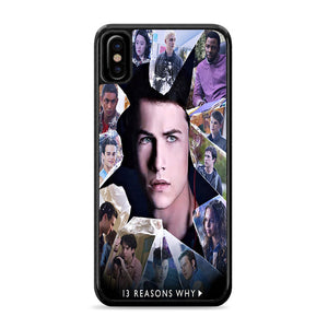13 Reasons Why Cast iPhone Xs Case | Caserisa