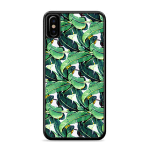 Beverly Hills Hotel Martinique Wallpaper Banana Leaf IPhone Xs Case