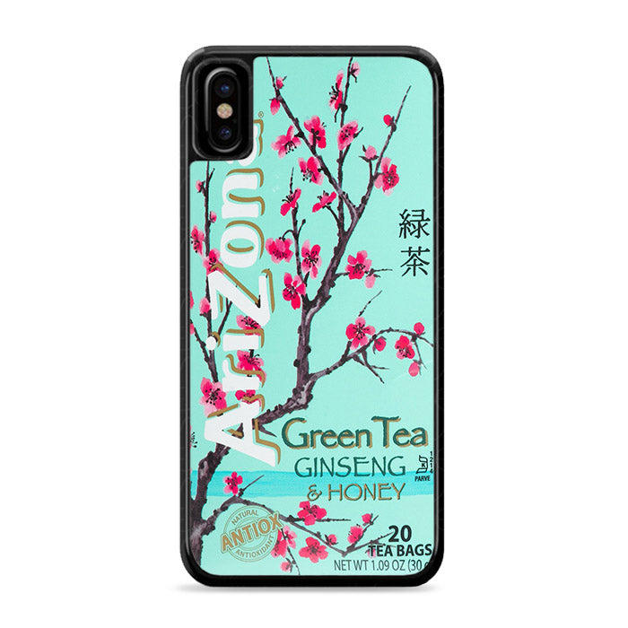 Arizona Green Tea iPhone Xs | Caserisa
