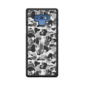 Bape Camo Grey Samsung Galaxy Note 9 Case | Caserisa