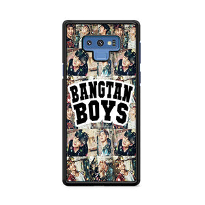 Bangtan Boys Collage Samsung Galaxy Note 9 Case | Caserisa