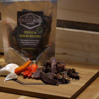 Chilli & Garlic Biltong Snack Pack - Best Before 22/10/20
