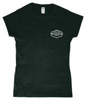 Grey Newcastle Biltong Ladies Fitted T-Shirt