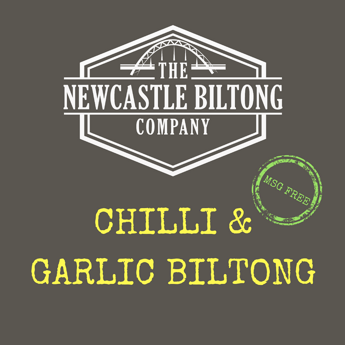 Chilli & Garlic Biltong 100g
