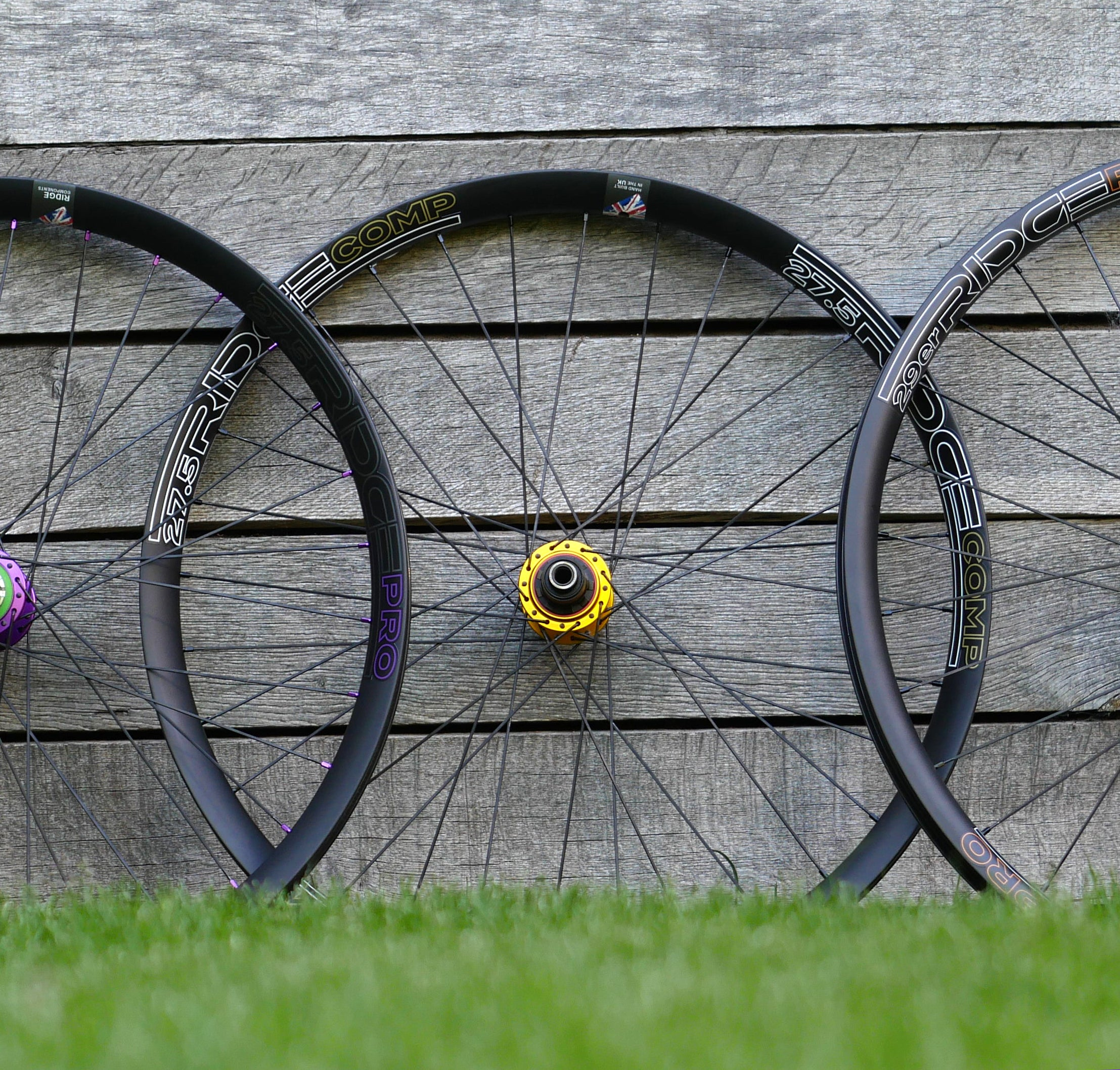 Ridge Comp 27.5 Wheel Set - Hope Pro 4 Hubs