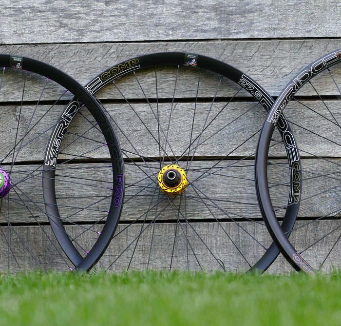 Ridge Comp 27.5 Wheelset - Custom Hub Set