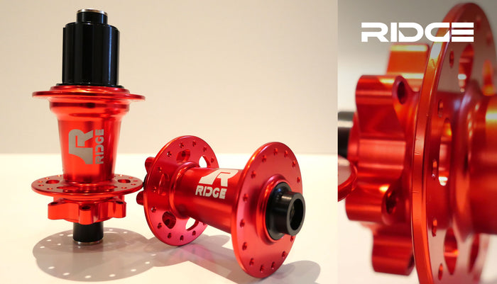 Ridge 6 Hubs Front & Rear Set