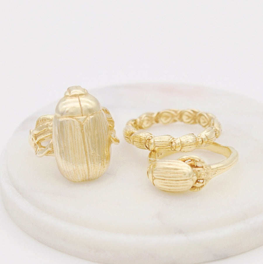 Mama Beetle Ring